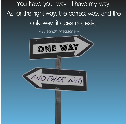 My Way Your Way